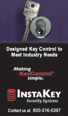 Designed key control to meet industry needs. Making key control simple. InstaKey - contact us at 800-316-5397