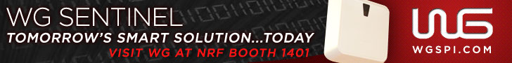 WG Sentinel - Tomorrow's Smart Solution...Today. Visit WG at NRF Booth 1401 - WG