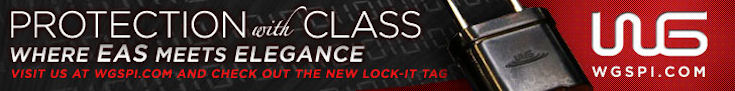 Protection with class. Where EAS meets elegance. Visit us at wgspi.com and check out the new lock-it tag. WG Security Products
