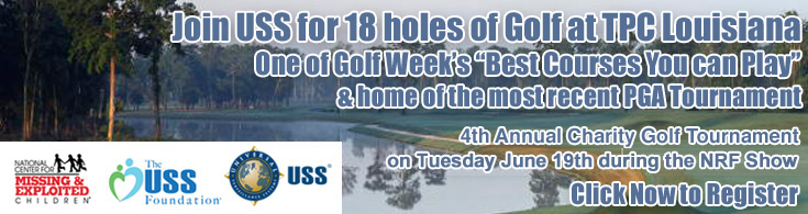 """Join USS for 18 holes of golf at TPC Louisiana. One of Golf Week's """"Best Courses You can Play"""" and home of the most recent PGA Tournament. 4th Annual Charity Golf Tournament on Tuesday June 19th during the NRF Show. Click now to register."""