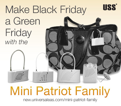 Make Black Friday a Green Friday with the Mini Patriot Family
