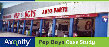 Axonify - Pep Boys Case Study