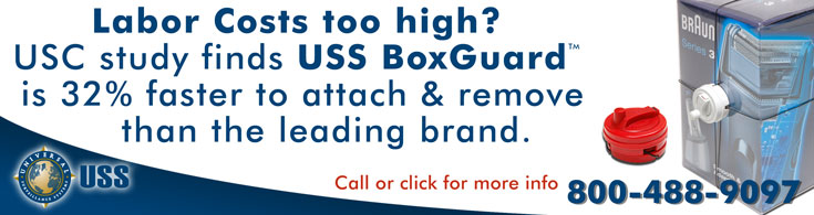 Labor Costs too high? USS BoxGuard is 32% faster from USS