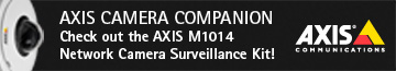 Axis Camera Companion. Check out the AXIS M1014 Network Camera Surveillance Kit! Axis Communications