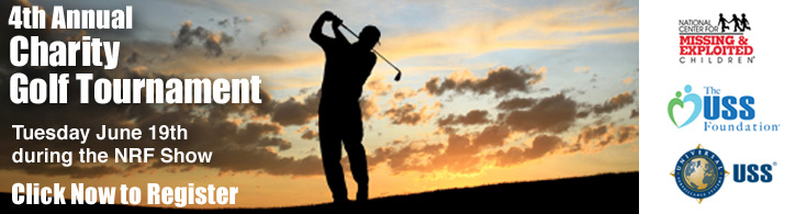 4th Annual Charity Golf Tournament - Tuesday, June 19th during the NRF Show - click to register