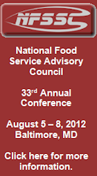 National Food Service Advisory Council Conference. August 5 -8.