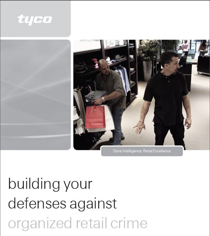 Tyco - bilding your defenses against organized retail crime