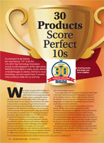 Security Sales & Integration Top 30 Tech Integration Awards 2012
