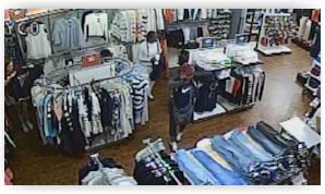 3f515ee5 Oklahoma City, OK: Police hope to identify Tommy Hilfiger shoplifters.  Police hope to identify a trio of shoplifters caught-on-camera stealing  clothes from ...
