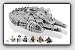 Picture: Star Wars Lego set retails for $100-$140 online