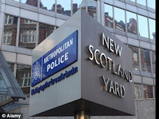 Picture: New Scotland Yard sign