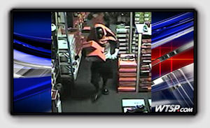 Picture: Trio of thieves steal thousands in shoes