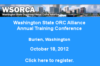 Washington State ORC Alliance Annual Training Conference - Burien, Washington - October 18, 2012 - Click here to register