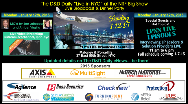 The D&D Daily Live in New York City at the NRF Show Jan. 12, 2015