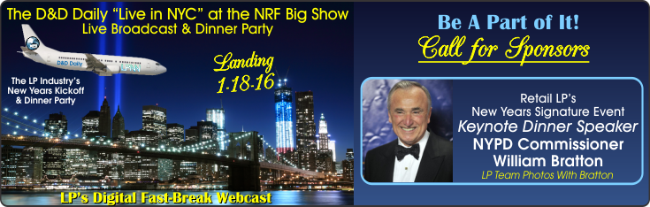 Live in NYC 2016 at the NRF Big Show